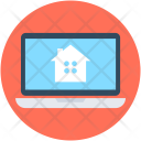Online Property Laptop Icon