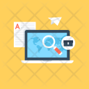 Online Marketing Digital Icon
