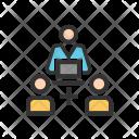 Online Support Team Icon