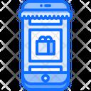 Online Store Phone Icon