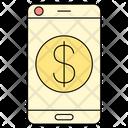 Online Banking Smartphone Icon