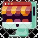 Online Store Creative Icon