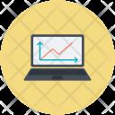 Online Chart Analytics Icon