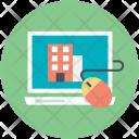 Online Website Broker Icon