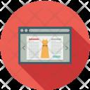 Online Website Shop Icon