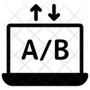 Online Ab testing Icon