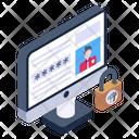 Online Account Password Icon