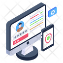 Online Account Security Icon