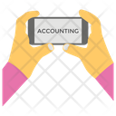 Accounting Finance Computing Icon