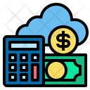Online Accounting Calculator Money Icon