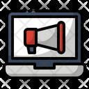 Ads Marketing Online Icon