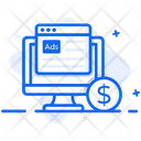 Online Ads Digital Ad Online Advertising Icon