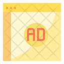 Advertisement Online Advertise Online Ads Icon