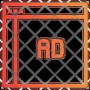 Advertisement Online Advertise Online Ads Icon