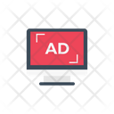 Ad Sponsor Television Icon