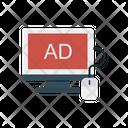 Ads Online Advertisement Icon