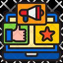 Online Advertisement Online Advertising Advertising Icon