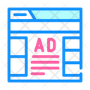 Advertising Web Site Icon