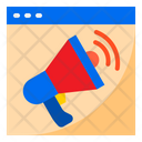 Online Advertising Advertising Megaphone Icon