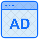 Online Advertising Website Internet Icon
