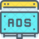 Online Adversting Ads Icon