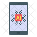 Artificial Intelligence Mobile Ai Online Ai Icon
