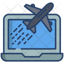 Online Air Ticket Ticket Booking Air Ticket Booking Icon