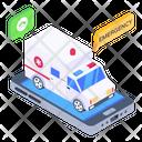 Call Ambulance Online Ambulance Medical App Icon