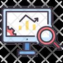 Isystem Monitoring Online Analysis Online Data Analyzing Icon