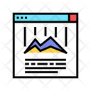 Online Chart Color Icon
