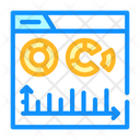 Electronic Financial Report Icon