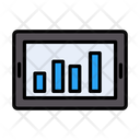 Mobile Chart Stats Icon