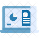 Online Analysis Report Cryptocuency Icon