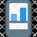 Online Analysis Mobile Analysis Graph Icon