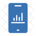 Online Analysis Mobile Phone Icon