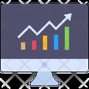 Online Analysis Analysis Analytics Icon