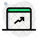 Online Analysis Growth Analysis Growth Growth Graph Icon