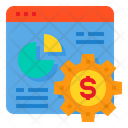 Browser Report Graph Icon