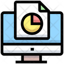 Business Financial Computer Icon