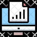 Online Analysis Report Online Analysis Online Report Icon