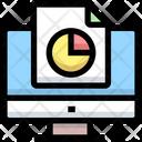 Online Analysis Report Online Analysis Computer Icon