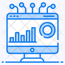Online Analytical Processing Data Processing Data Visualisation Icon