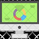 Graph Social Media Analysis Social Media Analytics Icon