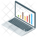 Statistics Online Analytics Business Monitoring Icon