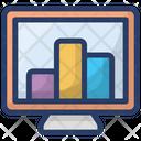 Online Analysis Business Analytics Statistical Icon