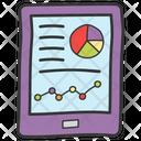 Statistics Analytics Online Analysis Icon