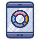 Online Analytics Mobile Analytics Marketing Research Icon