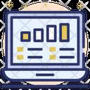 Online Data Data Analytics Infographic Icon