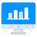 Data Analytics Online Statistics Data Infographic Icon