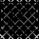 Graph Lcd Monitor Icon